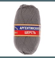 Пряжа Камтекс Аргентинская шерсть 100 г Цвет.168 Св. серый