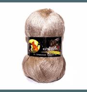 Пряжа Color City Angora кролик Цвет.408 Топленое молоко