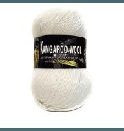 Пряжа Color City Kangaroo wool Цвет.2001 Белый