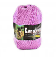 Пряжа Color City Kangaroo wool Цвет.218 Сирень