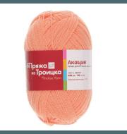 Пряжа Троицкая Акация Цвет.0421 Светло-оранжевый