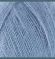 Пряжа Nako Mohair delicate Nako Цвет.6122 Серо-голубой