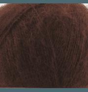 Пряжа Nako Mohair delicate Nako Цвет.6106 Коричневый