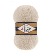 Пряжа Alize Angora Real 40 Цвет.67 Молочно-бежевый