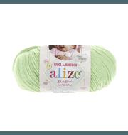 Пряжа Alize Baby Wool Цвет.41 Мята