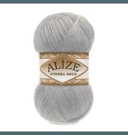 Пряжа Alize Angora Gold Цвет.21 Серый
