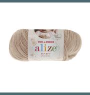 Пряжа Alize Baby Wool Цвет.310 Светло бежевый