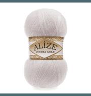 Пряжа Alize Angora Gold Цвет.168 Белая зима
