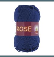Пряжа VITA Rose Цвет.4254 Темно-синий