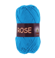 Пряжа VITA Rose Цвет.3937 Голубая бирюза