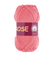 Пряжа VITA Rose Цвет.3905 Розовый коралл
