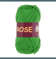 Пряжа VITA Rose Цвет.3935 Молодая зелень