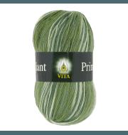 Пряжа VITA Brilliant print Цвет.2603 Зеленый