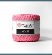 Пряжа YarnArt Violet Цвет.5001 Ярко розовый