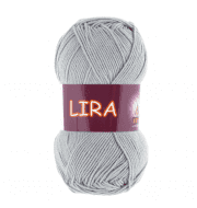 Пряжа VITA Lira Цвет.5021 Темное серебро