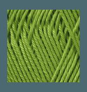 Пряжа YarnArt Begonia Цвет.5352 Яркая зелень