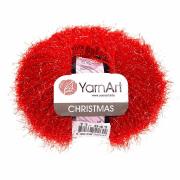 Пряжа YarnArt Christmas Цвет.011 Красный