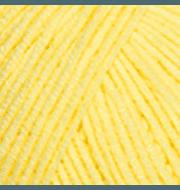 Пряжа YarnArt Jeans Цвет.67 светло желтый