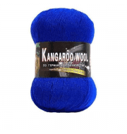 Пряжа Color City Kangaroo wool Цвет.303 Василек