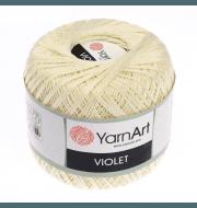 Пряжа YarnArt Violet Цвет.0326 Светлый лимон
