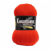 Пряжа Color City Kangaroo wool Цвет.2222 Алый