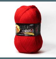 Пряжа Color City Angora кролик Цвет.2221 Красный