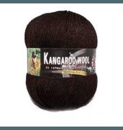 Пряжа Color City Kangaroo wool Цвет.2531 Темно коричневый