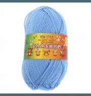 Пряжа Камтекс Бамбино Цвет.15 Голубой