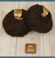 Пряжа Seam Alpaca de Italia Цвет.404 горький шоколад