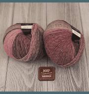 Пряжа Seam Boom Цвет.35581 св.сер.розовый мел
