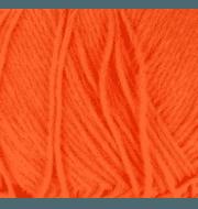 Пряжа Пехорка Хлопок натуральный Цвет.284 Оранжевый