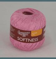 Пряжа Семеновская Нежность Цвет.Ярко розовый 79