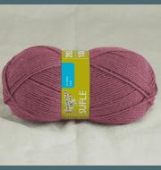 Пряжа Семеновская Суфле Цвет.Брусничный NEW 11197