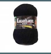 Пряжа Color City Kangaroo wool Цвет.2622 Черный