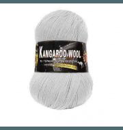 Пряжа Color City Kangaroo wool Цвет.29601 св. Серый