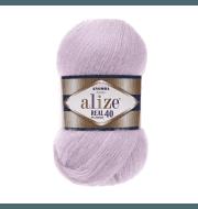 Пряжа Alize Angora Real 40 Цвет.27 Лиловый