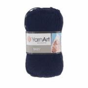 Пряжа YarnArt Baby Цвет.583 Темно-синий