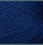 Пряжа YarnArt Merino De Luxe Цвет.551 Синий