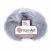 Пряжа YarnArt Christmas Цвет.044 Серый