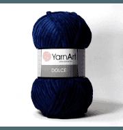 Пряжа YarnArt Dolce Цвет. 756 Синий