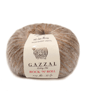 Пряжа GAZZAL Rock n Roll Цвет. 4202 Золотистый беж