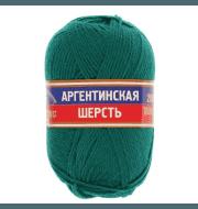 Пряжа Камтекс Аргентинская шерсть 100 г Цвет.41 Изумруд