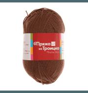 Пряжа Троицкая Акация Цвет.1253 Молочный шоколад