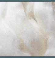 Пряжа Пехорка Шерсть для валяния тонкая Цвет.01 Белый