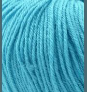 Пряжа GAZZAL Baby Wool Цвет.820 Голубой