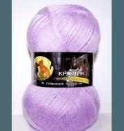 Пряжа Color City Angora кролик Цвет.258 Светло-сиреневый