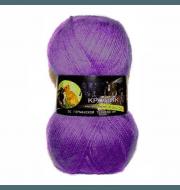 Пряжа Color City Angora кролик Цвет.2939 Сиреневый