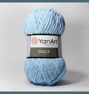 Пряжа YarnArt Dolce Цвет. 749 Голубой
