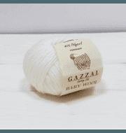 Пряжа GAZZAL Baby Cotton Gazzal Цвет.3410 Белый
