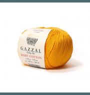 Пряжа GAZZAL Baby Cotton Gazzal Цвет.3416 Светло оранжевый